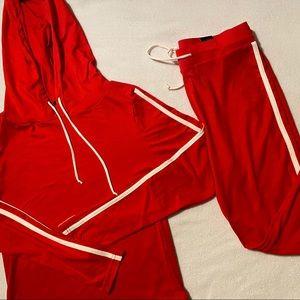 Fashion nova Red Tennis court set